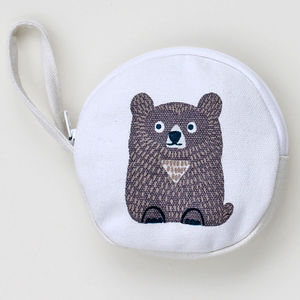 Bear With Coin Purse