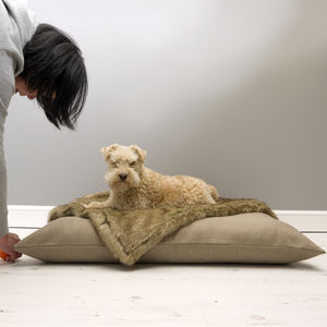 Luxury Mattress Style Dog Bed - beds & sleeping