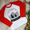 Personalised Snow Globe Kids Christmas Top