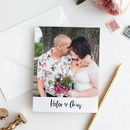 Lucie Personalised Wedding Photo Thank You Cards