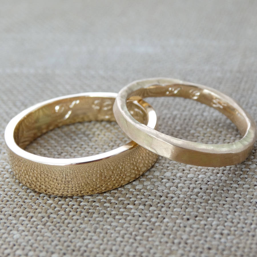 make your own wedding rings experience day for two by magnus bella