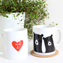 Bear Couple 'Selfie', Personalised Single Mug