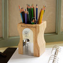 Old School Personalised Sharpener Desk Tidy