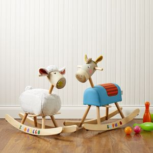 Rocking Horse And Rocking Sheep - toys & games