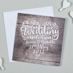 Heart And Soul Wedding Invitation - what's new