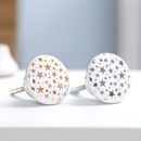 Star And Geometric Design Knobs