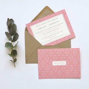 Wedding Stationery Personalised Vivid Collection
