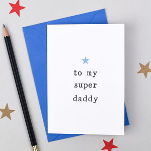'To My Super' Birthday Card - birthday cards