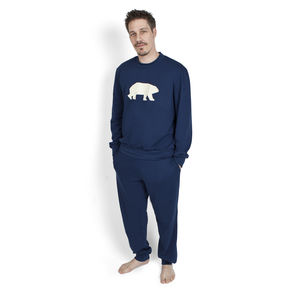 Mens Pyjamas Polar Bear Print - men's fashion