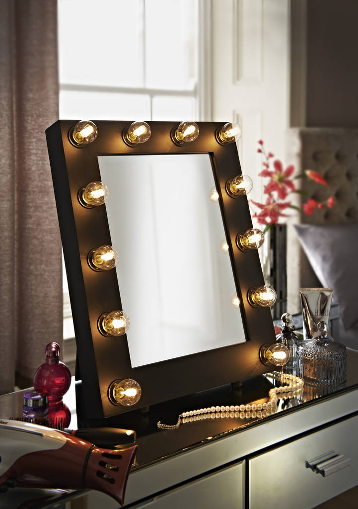 Satin Broadway Hollywood Mirror By Reflections Of Me