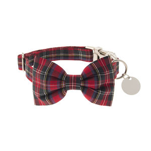 Scotty Bow Tie Dog Collar - clothes