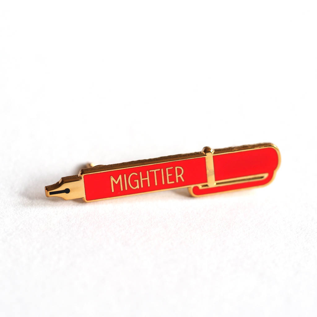 the pen is mightier The pen is mightier than the phone: a case for writing things out writing things down, with your actual hands, is just plain better at getting you to remember and execute good ideas here's why.
