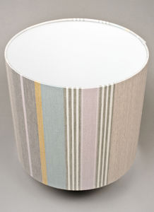 Mistley Stripe Lampshade Large - lighting