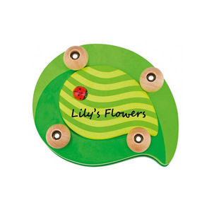 Leaf And Ladybird Flower Press