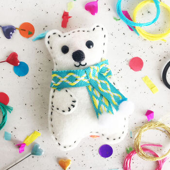 Polar Bear Decoration Sewing Craft Kit
