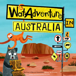 Australia Adventure Children's Story Book