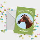 Horse Birthday Card A5