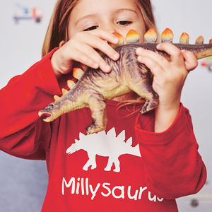 Personalised Dinosaur T Shirt - gift guide edit
