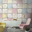 Tin Tile In Pastels By Woodchip And Magnolia