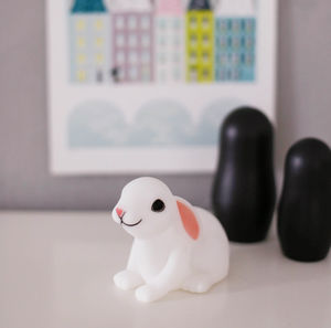 Bunny Rabbit LED Night Light - lighting