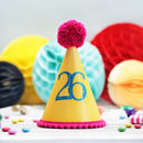 Colourful Any Age Party Hat