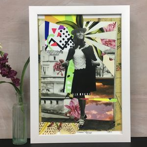 'Spring' Vintage Fashion Seasons Art Print