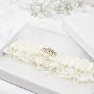 New Collection Luxury 'Luna' Bridal Garter - bridal garters
