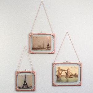 Personalised Hanging Copper Filigree Frame - picture frames