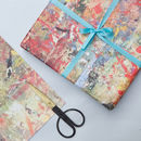 print works wrapping paper