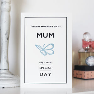 Mother's Day Butterfly Card - what's new