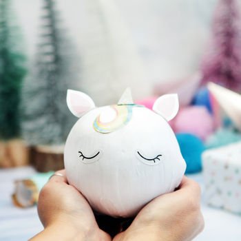Magical Unicorn Christmas Ball Of Surprises