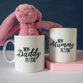 Personalised New Parent Mug