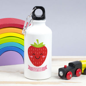 Children's Personalised Summer Fruit Waterbottle