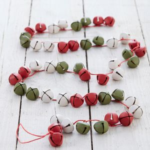 Jingle Bell Christmas Garland - tree decorations