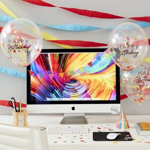 Happy Birthday Work Desk Party Kit