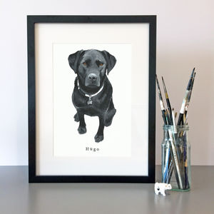 Pet Portrait - 50th birthday gifts