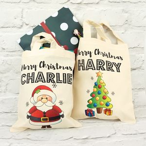 Personalised Christmas Tote Bag - bags, purses & wallets