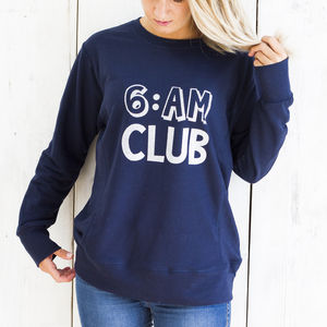 '6am Club' Sweater - winter sale