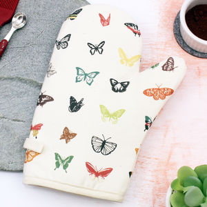 Curious Butterfly Organic Oven Glove For Kitchen