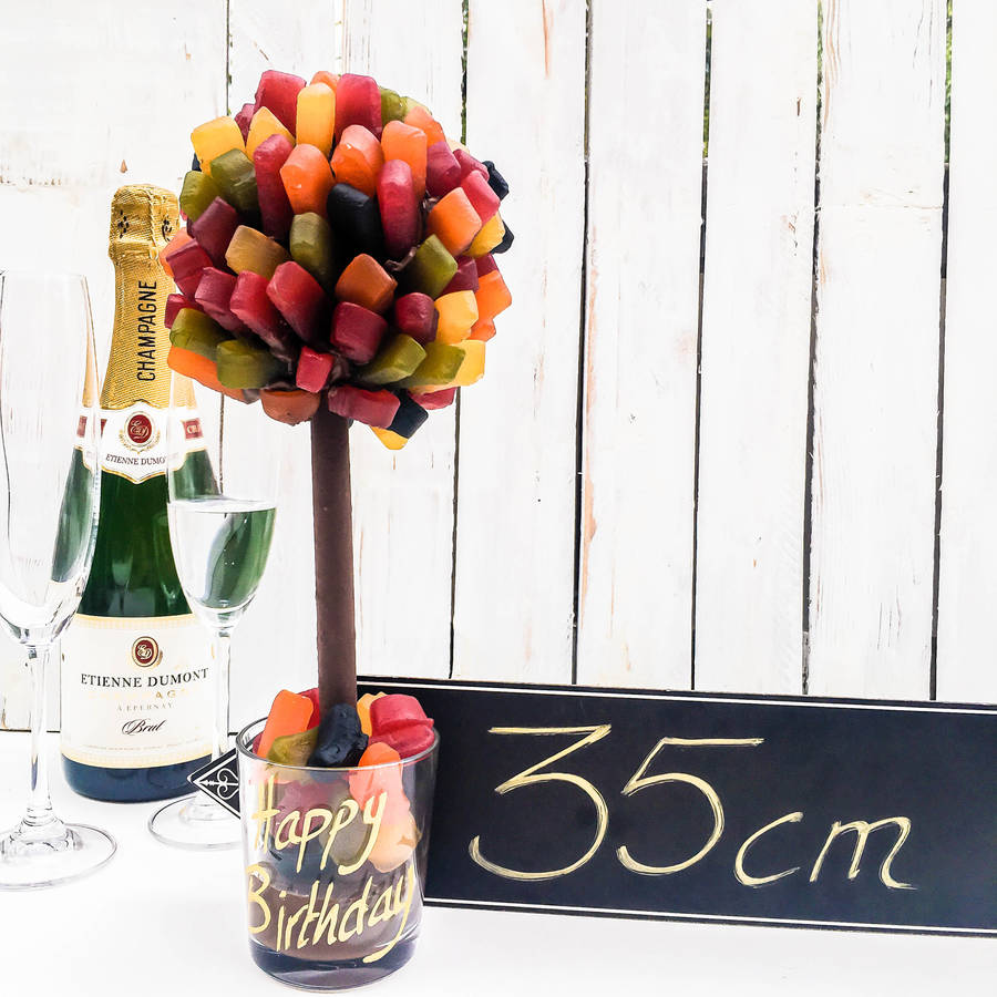how to make a wine gum tree