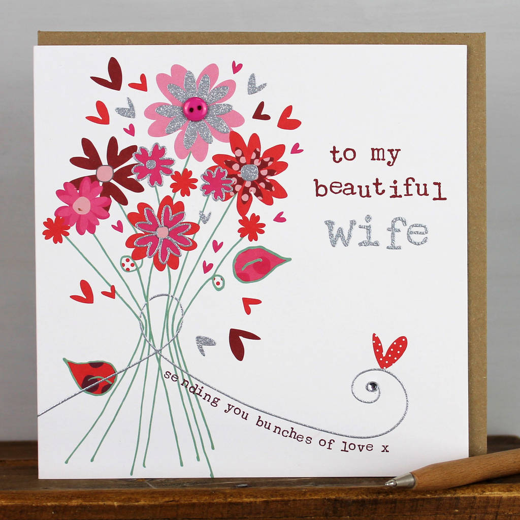 happy birthday card for a wife by molly mae – Happy Birthday Cards for My Wife