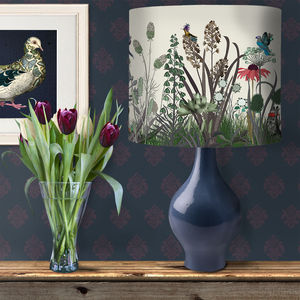 Wildflower Bloom Botanical Lampshade