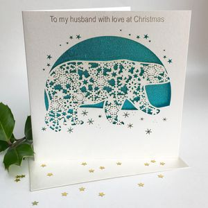 Christmas Card To My Husband At Christmas