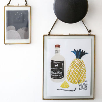 Hanging Brass Photo Or Picture Frame