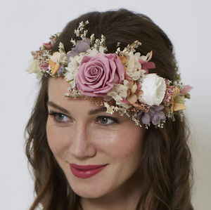 Isabelle Retro Crown - wedding fashion