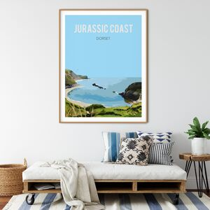 Jurassic Coast, Dorset Fine Art Travel Poster