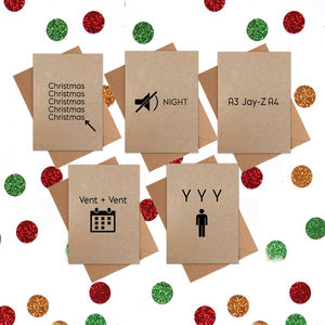 Funny Christmas Cards: Pack Of 20 Cards - christmas sale