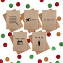 Funny Christmas Cards: Pack Of 20 Cards