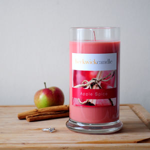 Apple Spice Scented Hidden Ring Candle