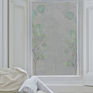 Eucalyptus Frosted Window Film - window film